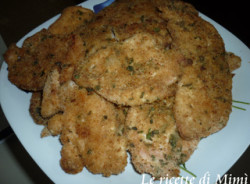 Cotolette di pollo light