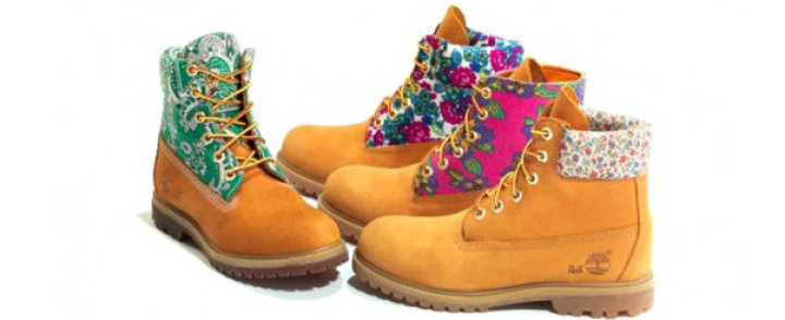 Timberland con stampe vintage in limited edition