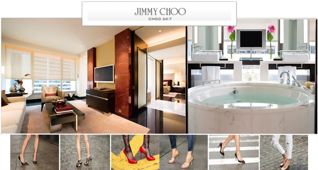 Suite L900 Mandarin oriental the landmark jimmy choo