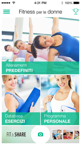 fitness per donne 1